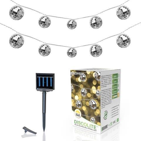 Solar LED Disco Ball Party String Light - N/A