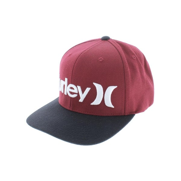 Shop Hurley Mens Ball Cap Wool Blend Snapback - o s - Free Shipping ... 31d9a0983
