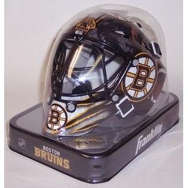 Boston Bruins Franklin Sports NHL Mini Goalie Mask