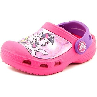 Crocs Creative Crocs My Little Pony Clog Round Toe Synthetic Clogs