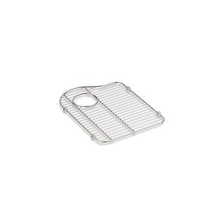 """Kohler K-5133 13-1/8"""" Stainless Steel Sink Rack - Left Hand Bowl - STAINLESS STEEL"""