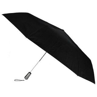 Totes Auto Open and Close Maximum Strength Titan Compact Umbrella - One size