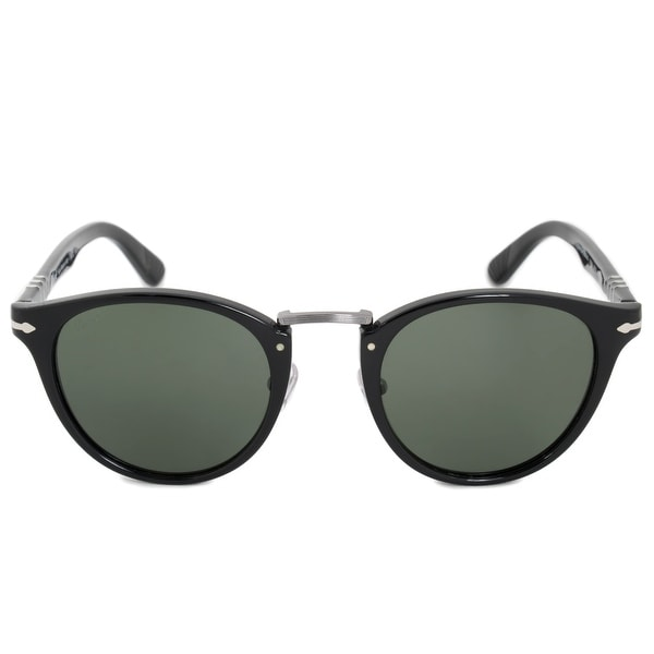 4a16f8fd25629 Shop Persol Typewriter Edition Oval Sunglasses PO3108S 95 31 49 ...
