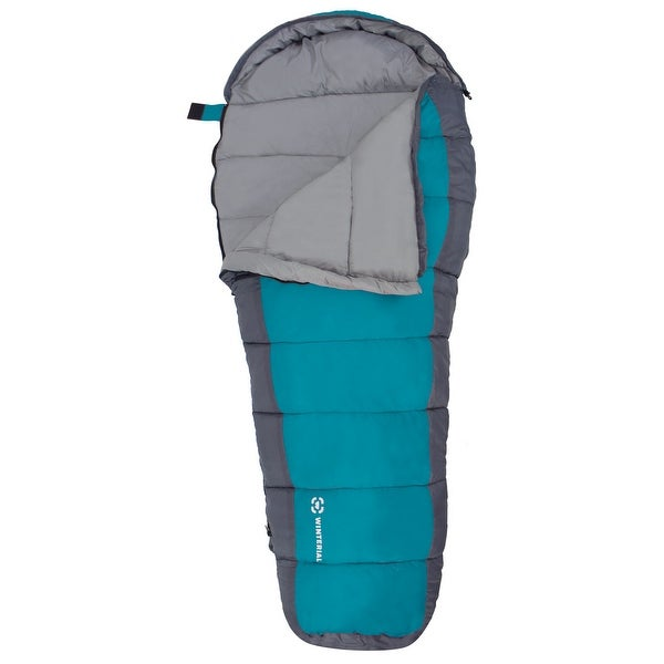 Winterial Youth Mummy Bag / Sleeping Bag / Kids Sleeping Bag / Camp / Blue
