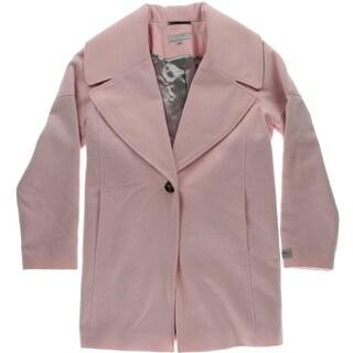 Calvin Klein Womens Coccoon Long Sleeves Coat - 10