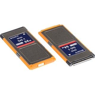 Sony 64GB SxS-1 G1C Series Memory Card (2-Pack)
