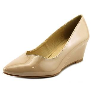 CL By Laundry Tiara Open Toe Synthetic Wedge Heel|https://ak1.ostkcdn.com/images/products/is/images/direct/60f7d36260f5eed3741f7818fbf64628b13ddfe6/CL-By-Laundry-Tiara-Open-Toe-Synthetic-Wedge-Heel.jpg?impolicy=medium