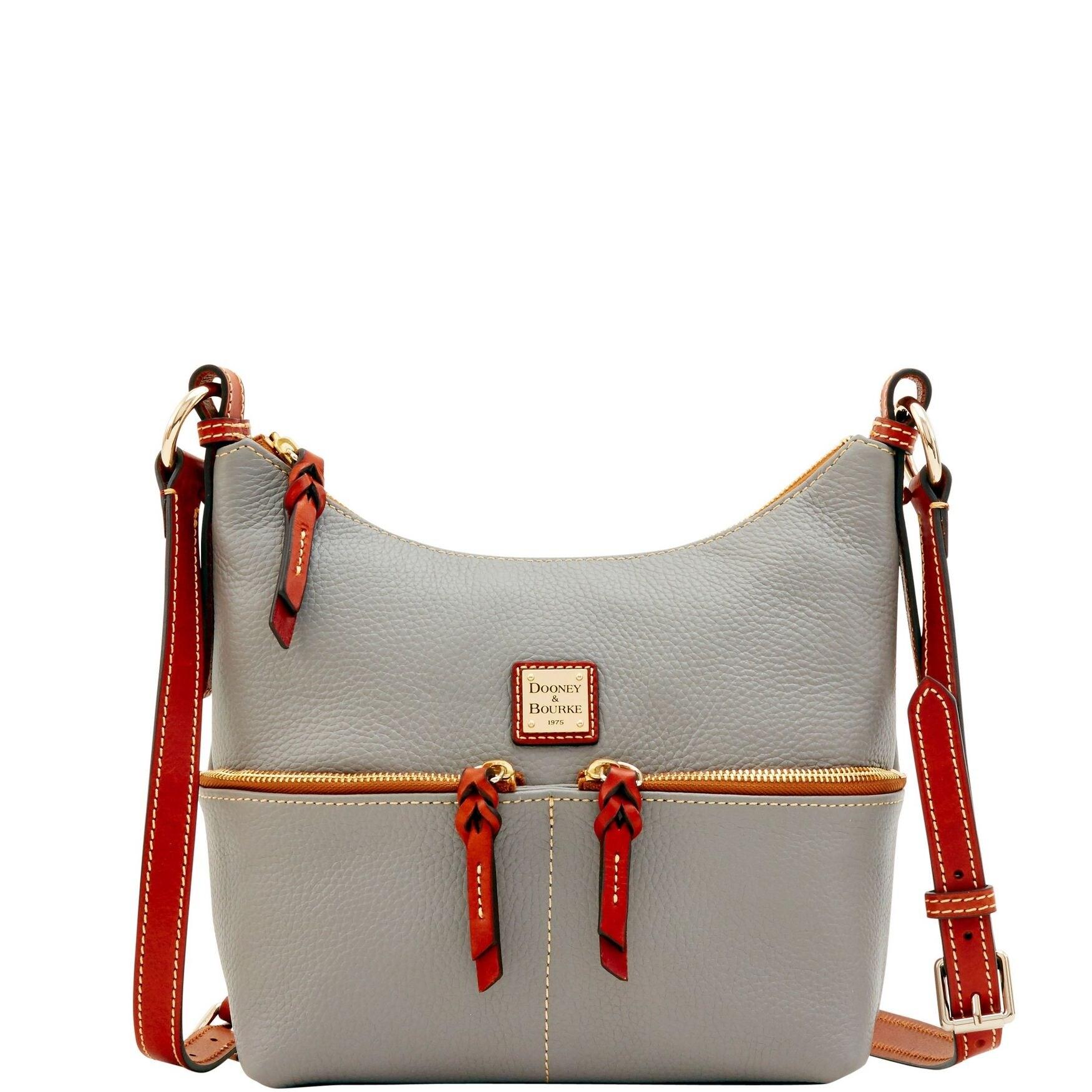 Dooney /& Bourke Pebble Grain Alyssa Crossbody Shoulder Bag