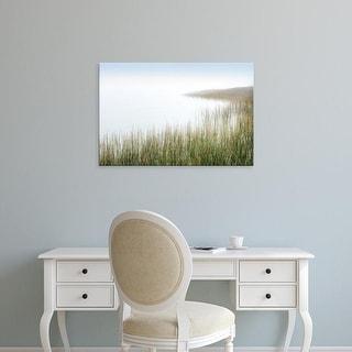 Easy Art Prints Alan Blaustein's 'Crescent Beach Calm 3' Premium Canvas Art
