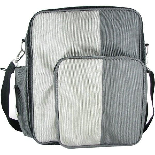 O Yikes Grey Slingback X Bag