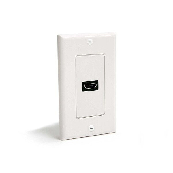 Startech Hdmiplate Single Outlet Female Hdmi Wall Plate - White