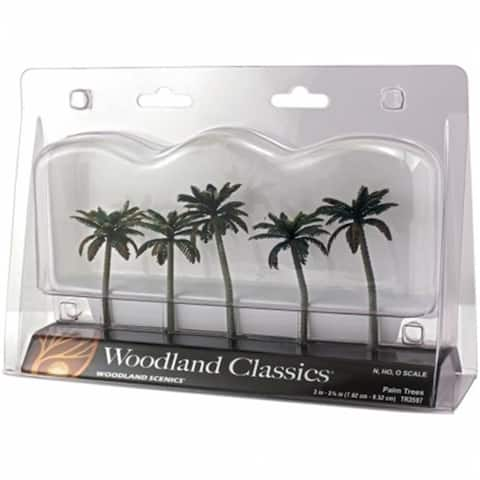 Woodland Scenics TR3597 Palm Trees 33.75 in.
