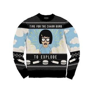 Bob's Burgers Tina Charm Bomb Adult Knit Sweater