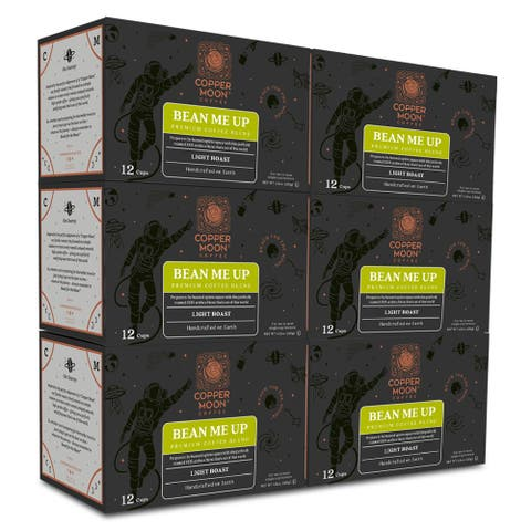 Copper Moon Single Serve Coffee K Cup Pods Bean Me Up 72 Ct