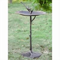 SPI Home 33348 Bird on Branch Sundial - Birdb