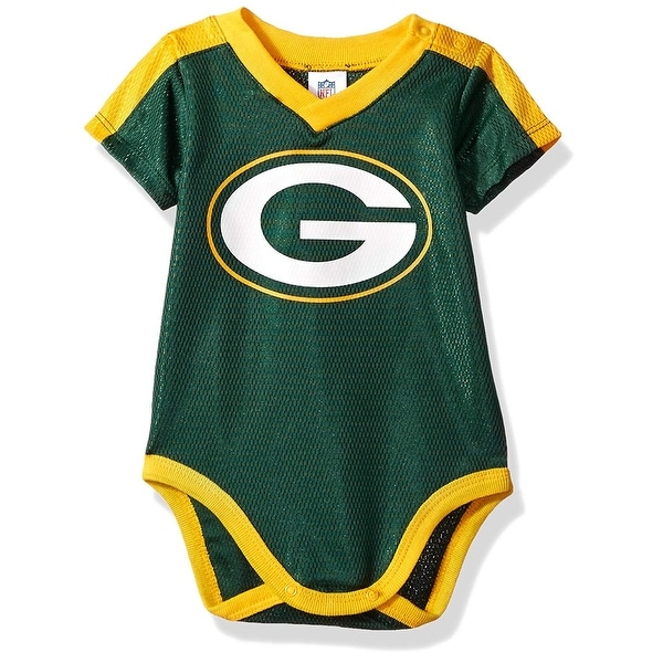 Shop Green Bay Packers Baby Boys Dazzle Bodysuit Free Shipping On