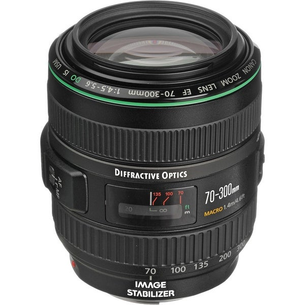 Canon EF 70-300mm f/4.5-5.6 DO IS USM Lens (International Model)