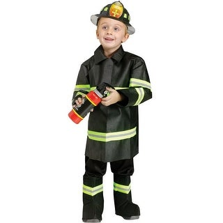 Fun World Fire Chief Toddler Costume - Black