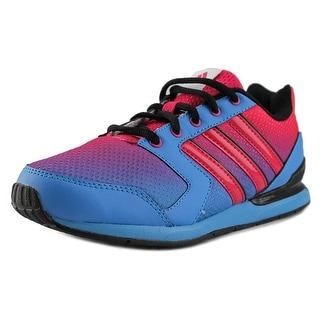 Adidas Streetrun VII K Youth Round Toe Synthetic Blue Sneakers