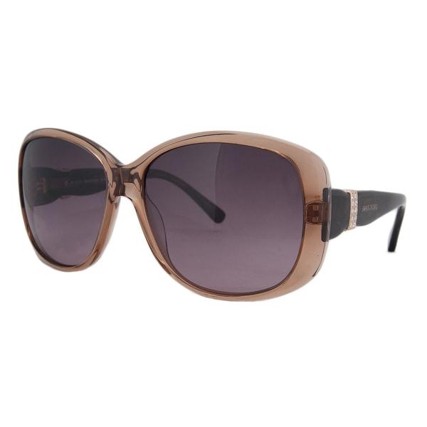 Swarovski SK 0012 45Z Clear Brown Square Sunglasses - 60-15-135