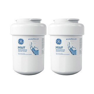 Original GE Water Filter MWF (2-Pack) Refrigerator Water Filter-Original