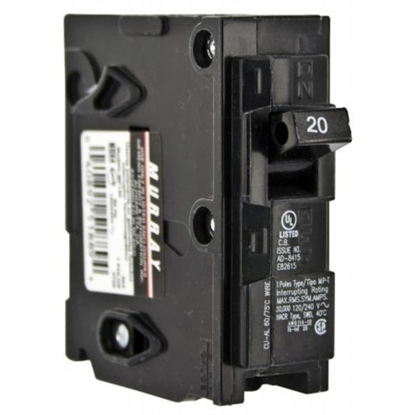 Shop Siemens 20 Amp Single Pole Circuit Breaker Mp120 Free