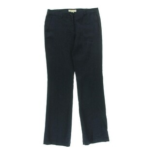 MICHAEL Michael Kors Womens Linen Flare Leg Casual Pants - 14
