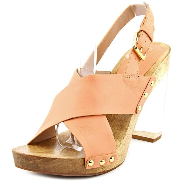 Trina Turk Penney   Open Toe Leather  Sandals