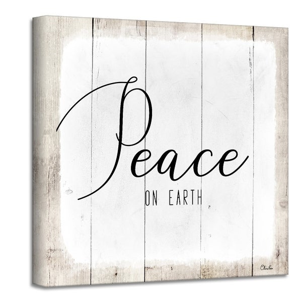 Ready2HangArt 'Peace on Earth II' Holiday Canvas Wall Art by Olivia Rose. Opens flyout.