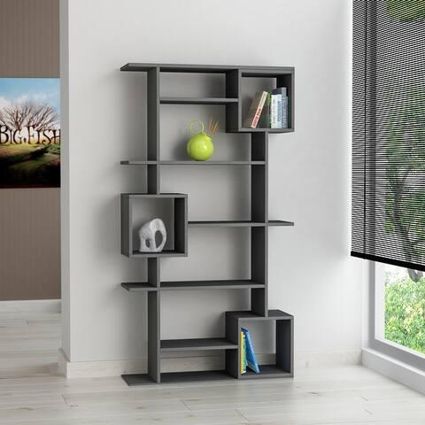 Barrett 10-shelf Modern Bookcase