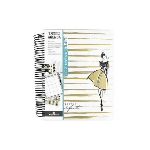 Paper House Life Org Planner 18 Month Per Imperfct
