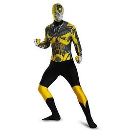 Disguise Costumes Mens Bumblebee Halloween Party Transformers Costume - M