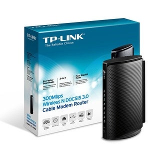 Tp-Link Tc-W7960 300Mbps Wireless N Docsis 3.0 Cable Modem Router