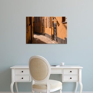 Easy Art Prints Per Karlsson's 'A Cobblestone Street In Gamla Stan' Premium Canvas Art