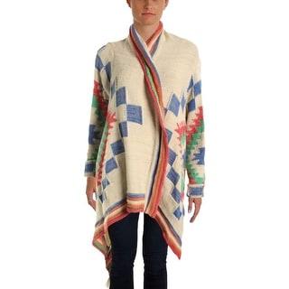Lauren Ralph Lauren Womens Wool Long Sleeves Cardigan Sweater - o/s