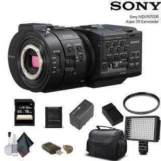 Sony NEX-FS700R Super 35 Camcorder (Intl Model) With Bundle