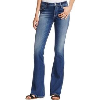 Hudson Womens Love Bootcut Jeans Elysian Denim Denim