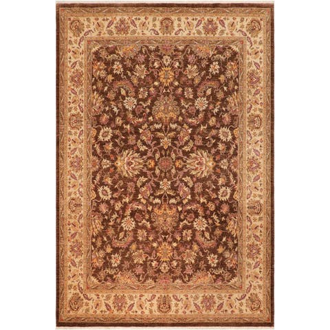 """Boho Chic Ziegler Patrina Hand Knotted Area Rug -8'2"""" x 9'8"""" - 8 ft. 2 in. X 9 ft. 8 in."""