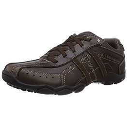 b9a9e27ec875f Shop Skechers Mens Diameter - Murilo Oxford Brown Size 12 - Free Shipping  Today - Overstock - 18274781