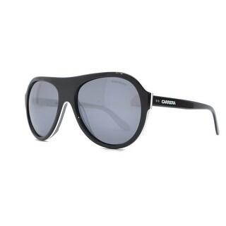 Carrera CA84S Oval Sunglasses in Black with Grey lenses