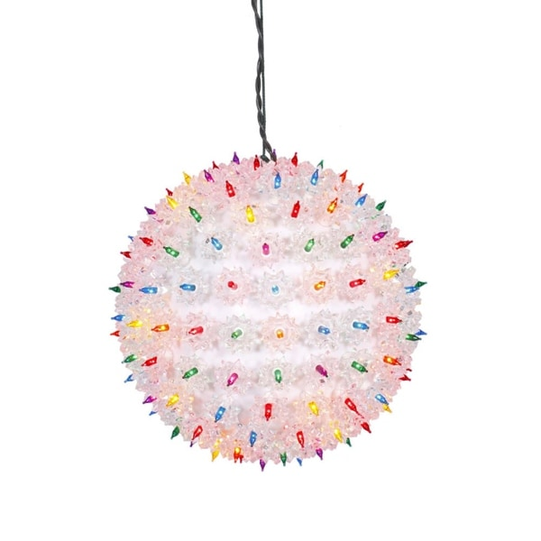 """10"""" Multi-Color Lighted Twinkling Starlight Sphere Christmas Decoration - multi"""