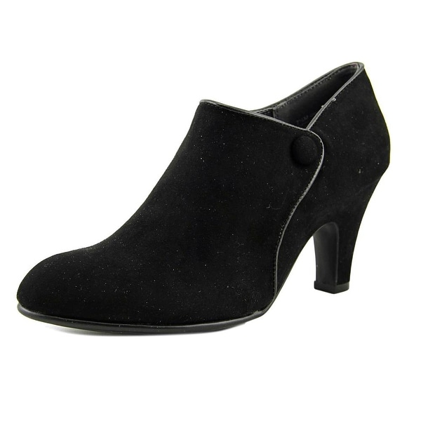 Aerosoles Great Escape Women Round Toe Synthetic Black Bootie