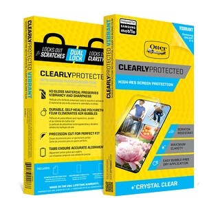 OtterBox Clearly Protected Screen Protector for HTC One (M8) - Clear