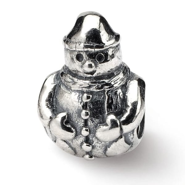 Sterling Silver Reflections Snowman Bead (4mm Diameter Hole)