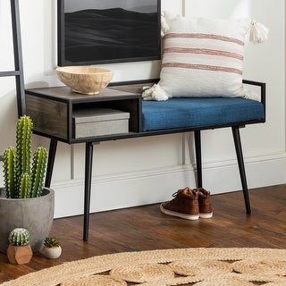 Link to Carson Carrington Mid-Century Telephone Bench Similar Items in Living Room Furniture
