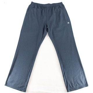 Avalanche NEW Solid Navy Blue Mens Size XL Drawstring Fleece Pants
