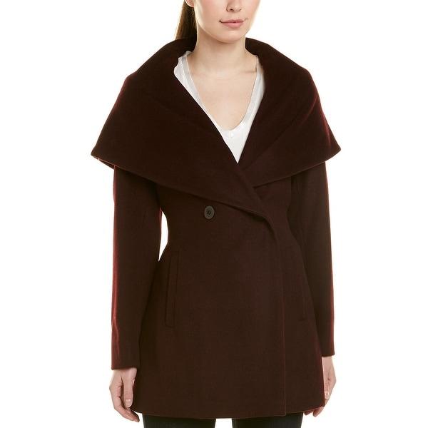 Trina Turk Womens Amelia Wrap Coat