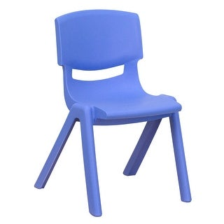 """Plastic Stackable School Chair with 12"""" Seat Height - Preschool Seating"""