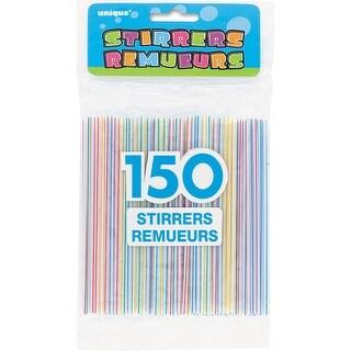 Stirrers 150/Pkg-Striped