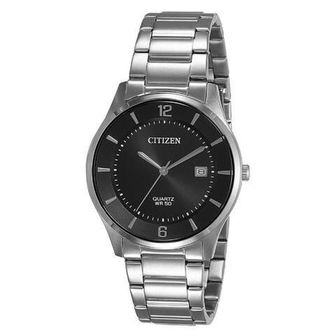 Citizen Men's BD0041-89E 'Classic' Stainless Steel Watch - Black